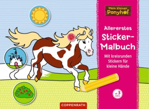 Mein Kleiner Ponyhof Allererstes Sticker Malbuch 63135