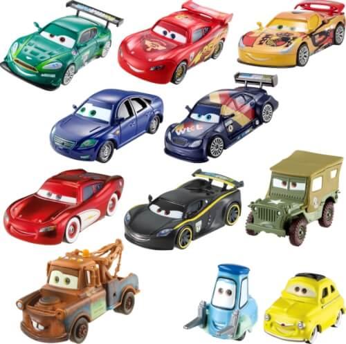 Mattel Disney's Cars 3 Sammelautos, ab 3 Jahre, sortiert