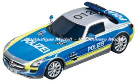 Carrera DIGITAL 132 - Mercedes-SLS AMG (Polizei), 1:32, ab 8 Jahre