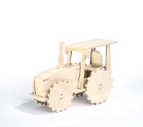 PEBARO Laubsägevorlage Traktor 3D