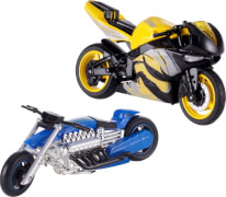 Mattel Hot Wheels X4221 1:18 Moto sortiert