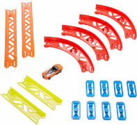 Mattel GLC88 Hot Wheels Track Builder Unlimited Builder Premium Curve Pack
