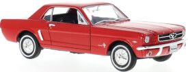 Ford Mustang Coupe 1964, rot, 1:24