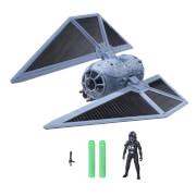 Hasbro B7105EU4 Star Wars Rogue One Fahrzeug - Tie-Striker  mit Figur