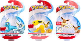 Pokémon Battle Figuren Wave 4 sortiert