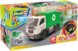 REVELL Junior Kit RC Garbage Truck 1:20