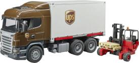 Bruder 03581 Scania R-Serie UPS Logistik-LKW