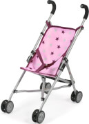 Bayer Chic 2000 - 601 78 Mini-Buggy Roma, Puppenbuggy, Stars Brombeere