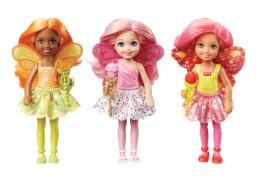 Mattel Barbie Dreamtopia Bonbon-Königreich Junior-Feen Sortiert rollierend