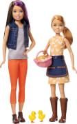 Mattel GCK85 Barbie® Farm Skipper + Stacie Puppen