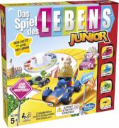 Hasbro B0654GR0 Das Spiel des Lebens Junior, für 2-4 Spieler, ab 5 Jahren