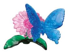 HCM Kinzel - 3D Crystal Puzzle - Schmetterling, 38 Teile, ab 14 Jahre