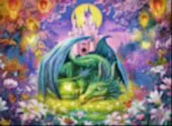 Ravensburger 13258 Puzzle: Mystischer Drachenwald 300 Teile XXL
