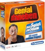 Clementoni - Genial Daneben 2018 (Brettspiel), 2-6 Spieler, ca. 40 min, ab 12 Monate