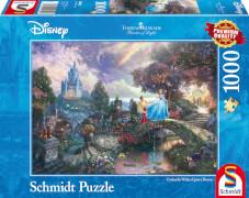 Schmidt Puzzle 59472 Thomas Kinkade, Disney, Cinderella, 1000 Teile, ab 12 Jahre