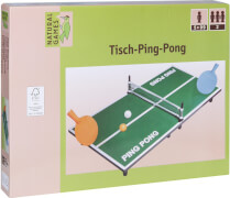 Natural Games Ping Pong-Set 60 x 30 x 7 cm