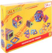 Creathek Magnetische Formen, 34 Stück