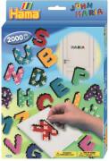 HAMA Bügelperlen Midi - Geschenkpackung Buchstaben - 1 Stiftplatte großes Vierec