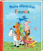 Meine allerersten Freunde - Die Lieben Sieben, Freundebuch, gebundenes Buch, 96 Seiten, ab 3 Jahren