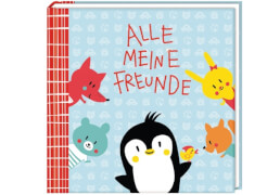 Freundebuch - Alle meine Freunde (Pinguin)