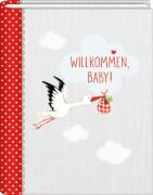 Kl. Foto-Einsteckalbum: Willkommen, Baby! BabyGlück