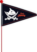 Capt'n Sharky Radwimpel, geteilt
