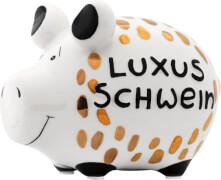 Sparschwein Luxusschwein Gold-Edition