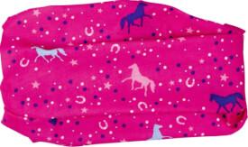 Die Spiegelburg 14691  Pferdefreunde - Multifunktionstuch mit UV Schutz, pink