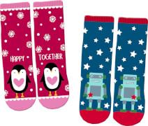 Magic Socks Fröhl. Weihnachten (one size/Gr.26-36), sort.